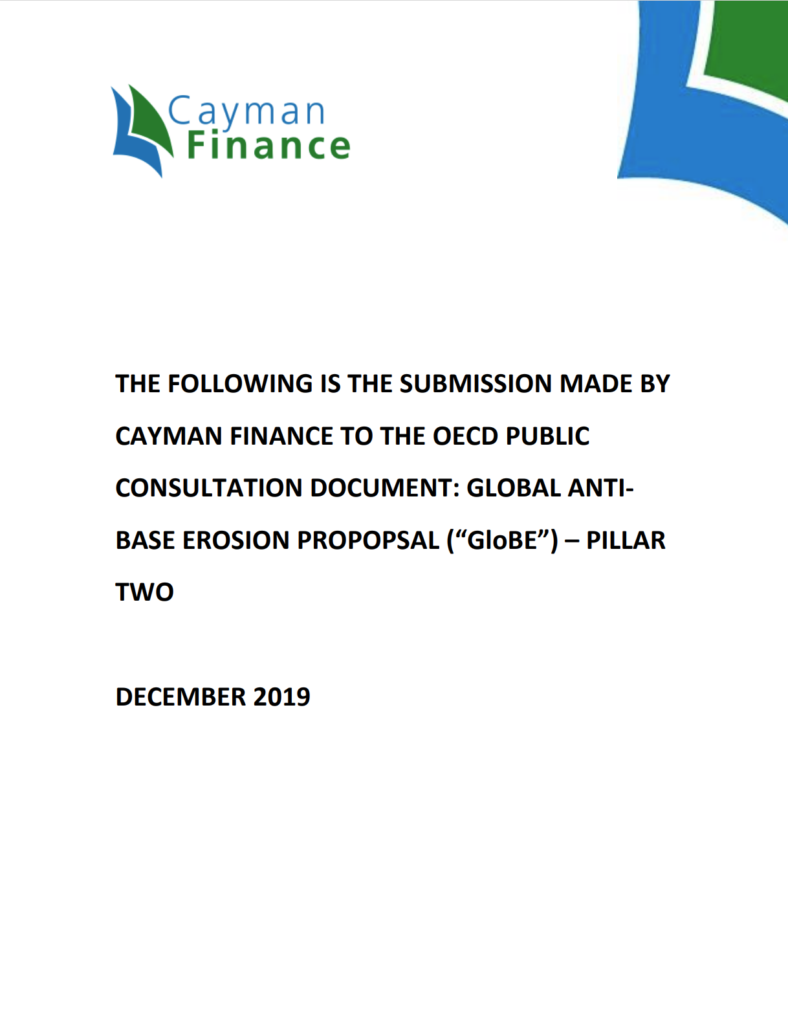OECD Pillar Two Consultation Submission
